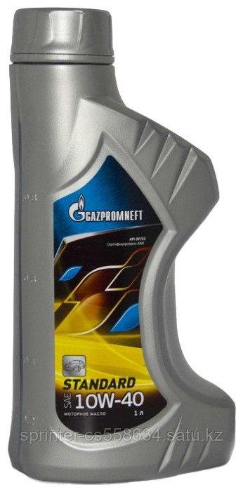 Моторное масло GAZPROMNEFT STANDART 10w40 1 литр