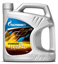 Моторное масло GAZPROMNEFT STANDART 10w40 4 литра