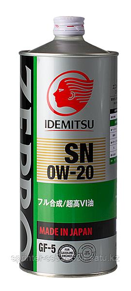 Моторное масло IDEMITSU ZEPRO ECO MEDALIST 0w20 1 литр