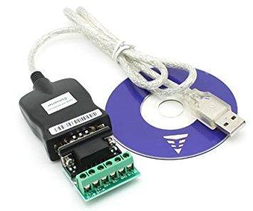 USB 2.0 конвертер RS232 - RS485 DB9 адаптер для преобразования интерфейсов
