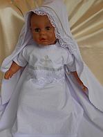 Крестильный комплект Балу с вышивкой