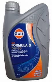 Моторное масло GULF Formula G 5w30 1 литр