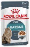 Royal Canin Hairball Паучи для взрослых кошек для выведения шерсти (кусочки в соусе) (12 шт. по 85 гр)