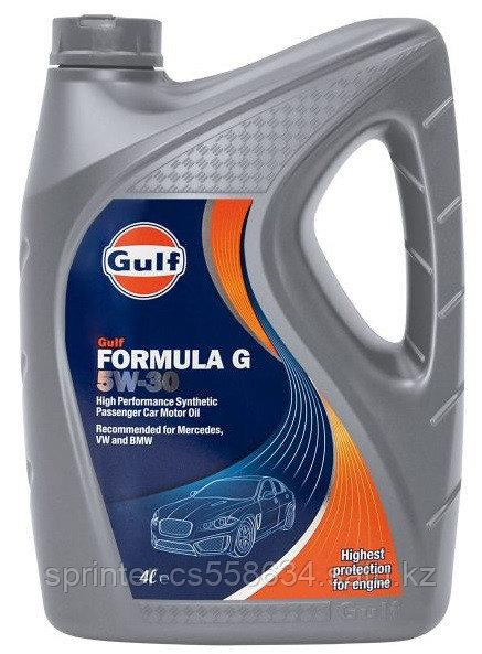 Моторное масло GULF Formula G 5w30 4 литра