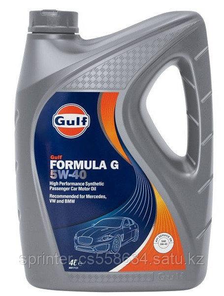 Моторное масло GULF Formula G 5w40 4 литра