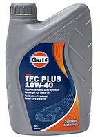 Моторное масло GULF TEC Plus 10w40 1 литр