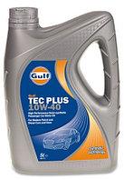 Моторное масло GULF TEC Plus 10w40 5 литров