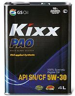 Моторное масло KIXX PAO 5w30 4 литра