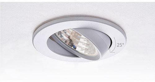 Поворотные встраиваемые светодиодные светильники