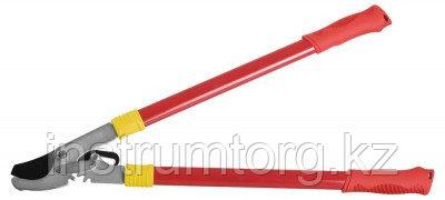 Сучкорез GRINDA с усиливающей зубчатой передачей и стальными ручками, макс. диаметр реза - 32мм, 660мм