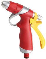 GRINDA плавная регулировка, курок сзади, пистолет поливочный металлический с TPR