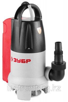 Насос ЗУБР погружной,универсальный,для грязной и чистой воды,с датчиком уровня,пропускная способность 150 л/мин, 400Вт