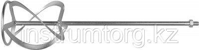 Насадка, ЗУБР ЗМРН-1-120-02, перемешивание снизу-вверх, М14, d=120 мм, L=590 мм