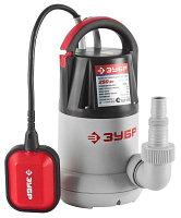 Насос ЗУБР погружной, дренажный, для чистой воды, 110 л/мин, 250Вт