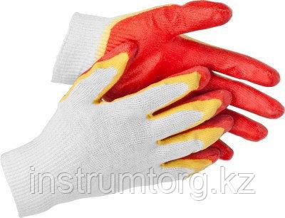 STAYER EXPERT-2, размер S-M, перчатки с двойным латексным обливом