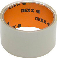 Лента DEXX клеящая упаковочная, прозрачная, 40мкм, 48мм х 20м