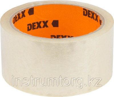 Лента DEXX клеящая упаковочная, прозрачная, 40мкм, 48мм х 50м