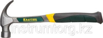 KRAFTOOL THOR 450 г молоток-гвоздодёр цельнокованый столярный