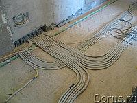 Электромонтажные работы по внутренним (распределительным) сетям электроснабжения
