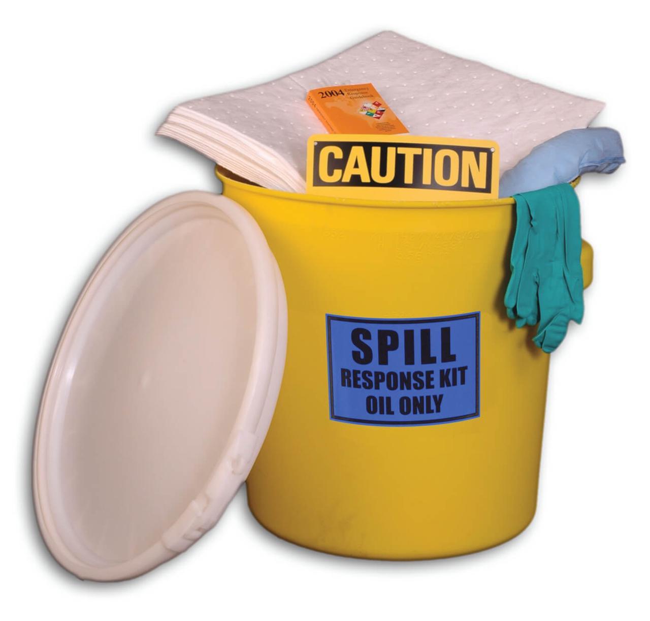 20-Gal Spill Kit Набор для сбора разливов масла, химических и технических жидкостей