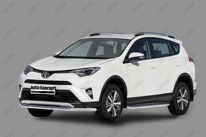 Защита переднего бампера Toyota RAV-4 2015- D 60,3