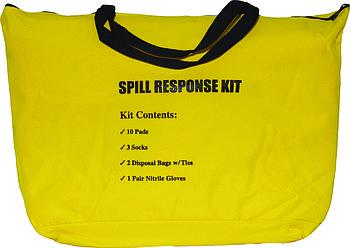 Spill Kit in High-Visibilti Bag Комплект по сбору разливов нефтепродуктов и технических жидкостей
