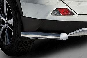 Защита заднего бампера Toyota RAV-4 2015- уголки D 60,3