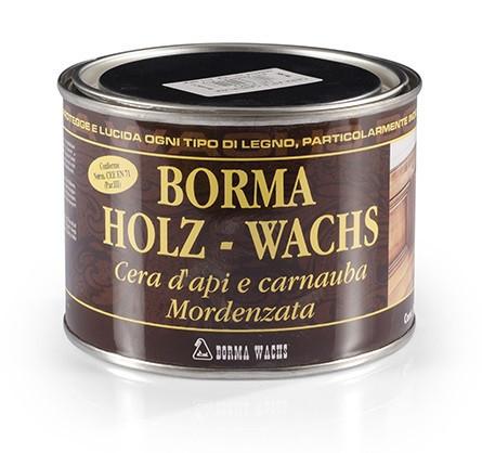 Пчелиный воск HOLZWACHS - темный орех 63