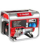 Генератор ЗУБР бензиновый, ручной и электрический пуск, автоматический пуск, 4500/4000 Вт, 220/12В, фото 1