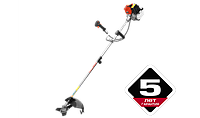 "Триммер бензиновый (бензокоса) ЗУБР ""МАСТЕР"", 49,3 см3 (2,0 л.с. / 1,5 кВт), катушка / нож, ширина кошения 44/, фото 1"