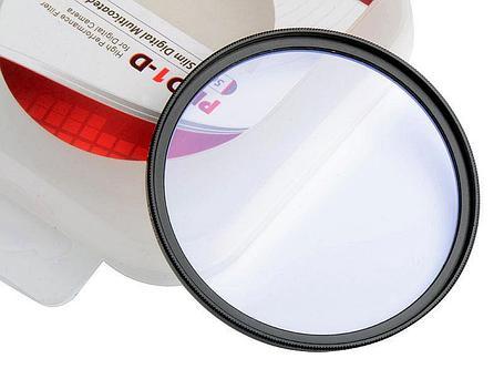 Защитное стекло ультра тонкий 72 мм - UV фильтр PRO1-D, фото 2