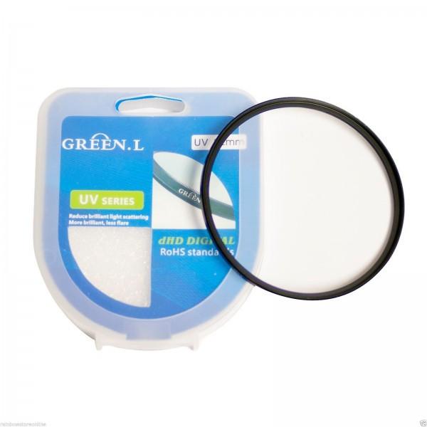 Защитное стекло 62 мм- UV фильтр GREEN.L