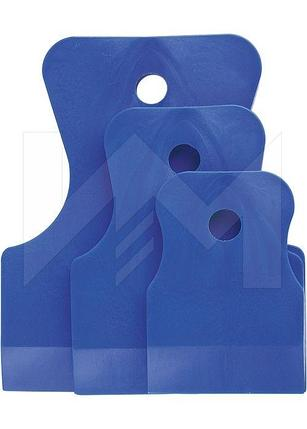 ШПАТЕЛЬ резиновый синий (3шт.), фото 2