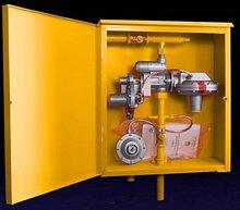 Газорегуляторный  пункт шкафной (бытовой) ГРПШ 10МС