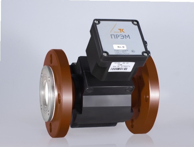 Преобразователь расхода электромагнитный ПРЭМ, Dy 80/f мм, Qmin 1,2 м3/ч