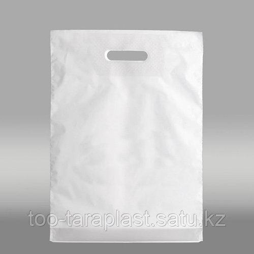 Полиэтиленовые пакеты для нанесения логотипа (под шелкографию), производитель Алматы