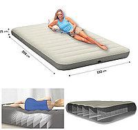 Кровать надувная Intex  152х203х25  см, max 215 кг Intex 64709, без насоса