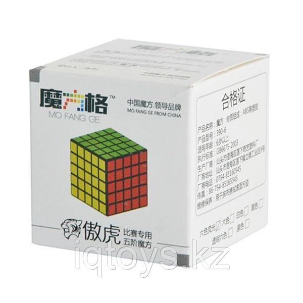 Головоломка Кубик Рубика 5x5x5 MoFangGe Tiger без наклеек