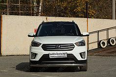Обвес, защита бамперов, порогов из нержавеющей стали Hyundai Creta 2016+