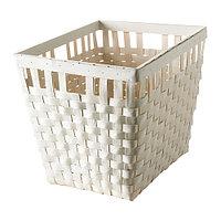 Корзина КНАРРА белый ИКЕА, IKEA , фото 1