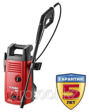 Мойка высокого давления (минимойка) электр, ЗУБР АВД-110,макс. 110Атм,300л/ч,1400Вт,колеса,бачок для средства,, фото 2