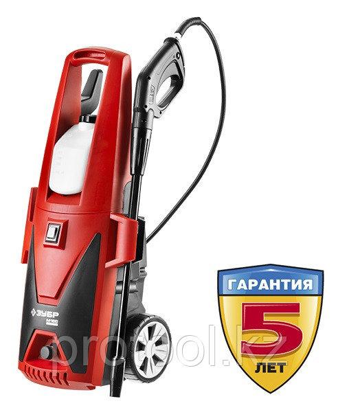 Мойка высокого давления (минимойка) электр, ЗУБР АВД-165,макс. 165Атм,396л/ч,2400Вт,колеса