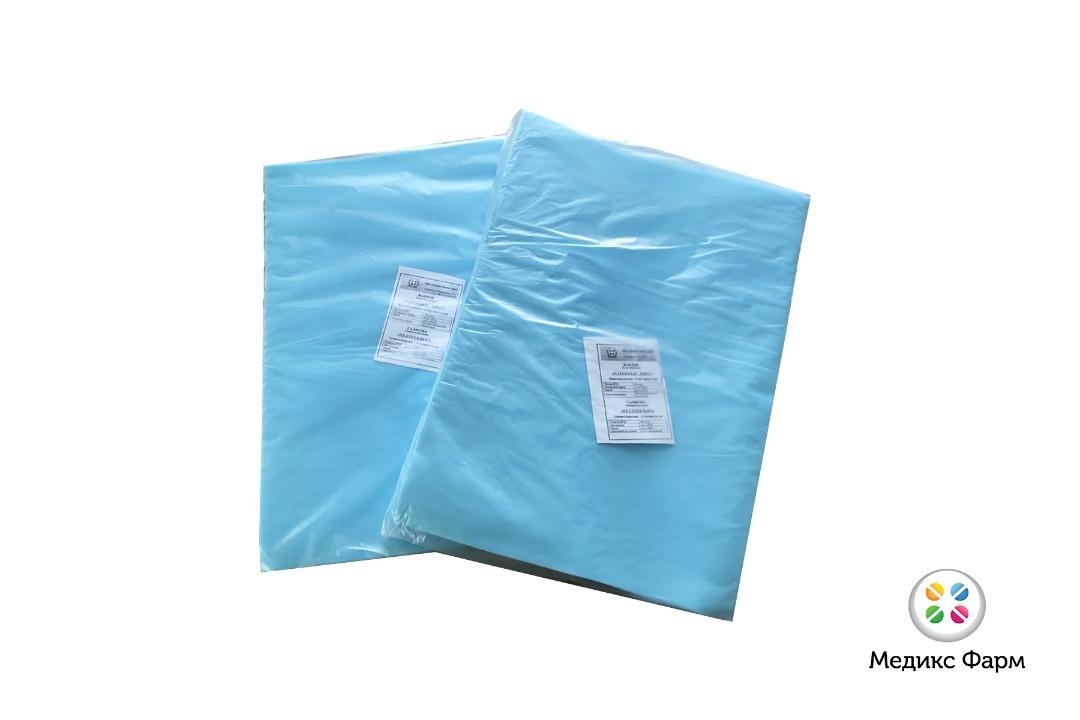 Простыня медицинская стерильная 200х80 см, 30 гр.