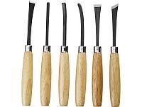 Набор STAYER: Резцы фигурные, с деревянной ручкой, 6шт, фото 1