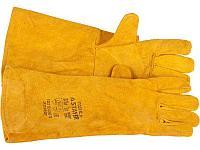 """Термостойкие краги STAYER """"PROFI"""" с подкладкой, для сварки и тяжелых механических работ, с подкладкой, 400мм, фото 1"""