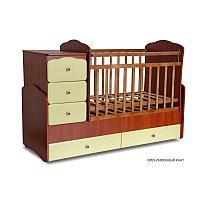 Детская кровать-трансформер Фея 2150 Кант Орех-лимонный, фото 1