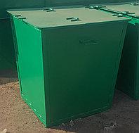 Контейнера для мусора металлические с крышкой