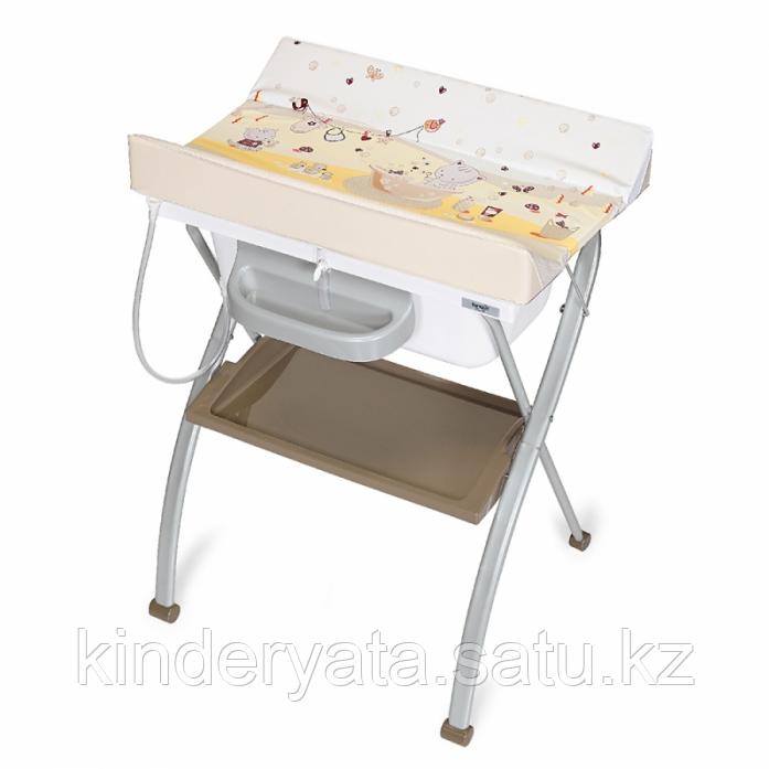 Пеленальный столик Brevi LINDO, 0+ MIAM CARAMEL