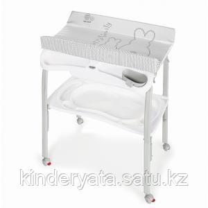 Пеленальный столик PRATICO, WHITE RABBIT Brevi
