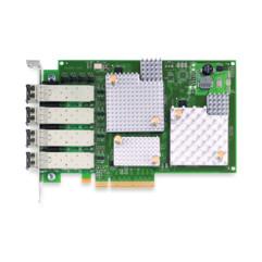 Четырехпортовая оптическая сетевая карта HBA Emulex LPE12004
